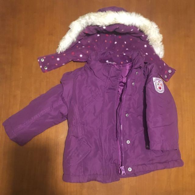 82dd17a4b Oshkosh B gosh Winter Coat - 2 Layers Size 18 Months