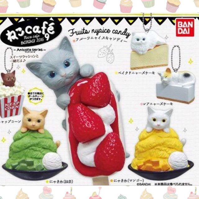 ☕️貓咪咖啡廳P9-起司蛋糕波斯貓(點心貓)