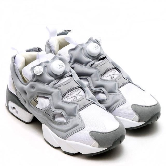 Reebok Pump Fury 灰白