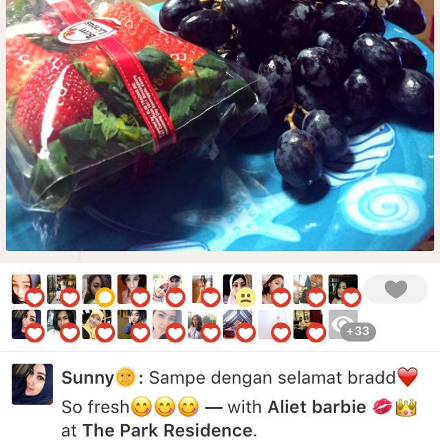 Strawberry Korea😍😘