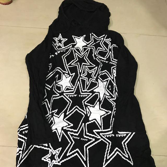 星星薄帽t