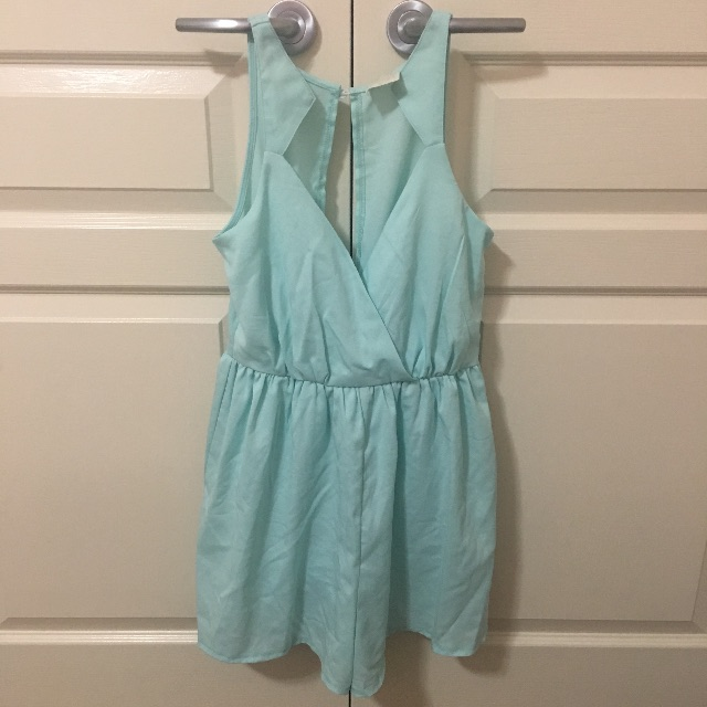 Teal Playsuit