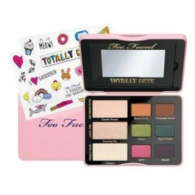 TOO FACED TOTALLY CUTE EYESHADOW COLLECTION.