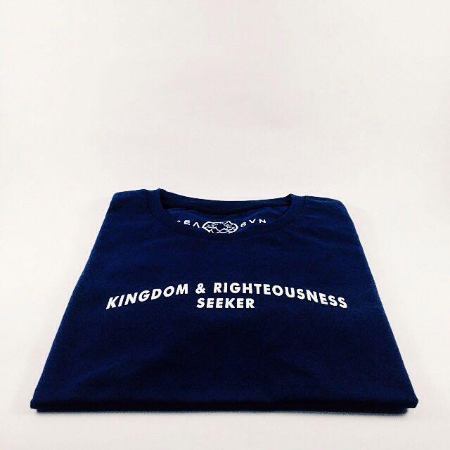 T-shirt - Kingdom & Righteousness Seeker