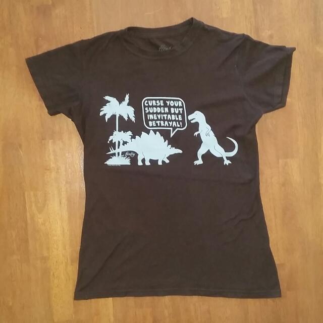 Unisex Firefly T-Shirt, Size Large