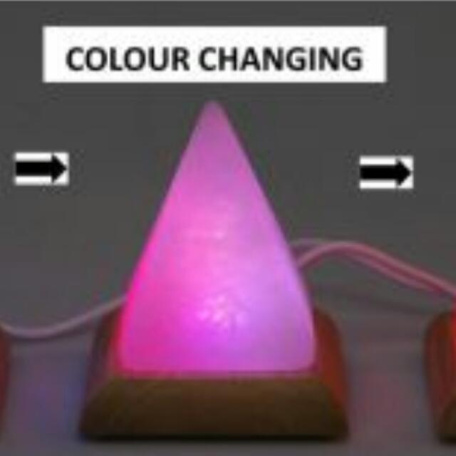 USB Colour Changing Himalayan Salt Lamp