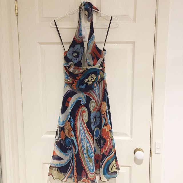 Very Very Silk Multi Coloured Formal Dress