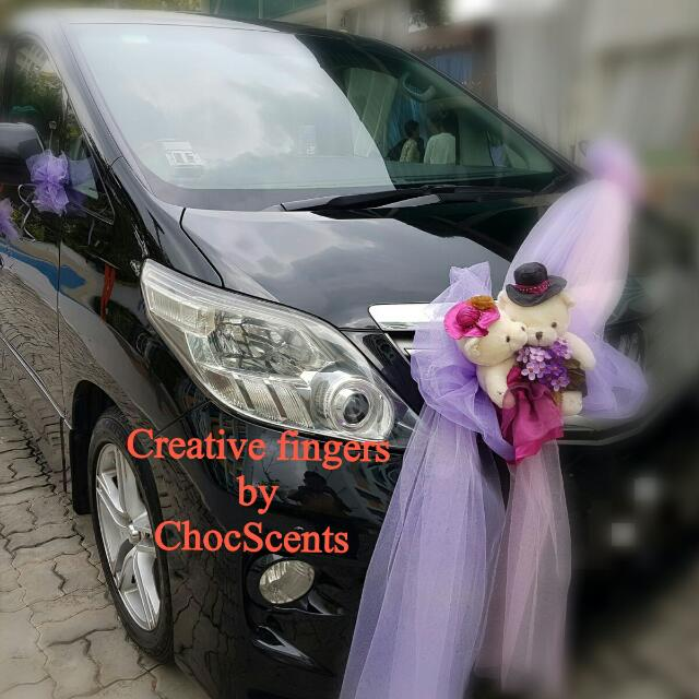 Wedding car decoration car accessories on carousell home car accessories photo photo junglespirit Gallery