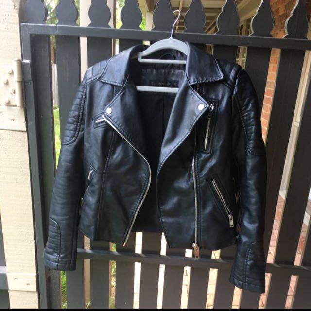 On Hold *Zara Leather Jacket*