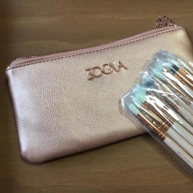 ZOEVA Rose Golden Eye Brushes - 12 Piece Set