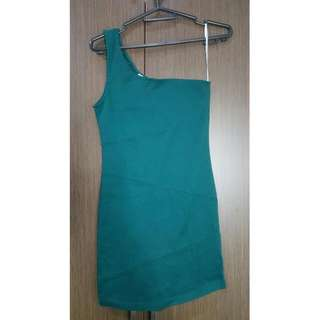 Pre-loved One Shoulder Dress