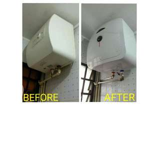 30L Ariston Water Heater Replacement