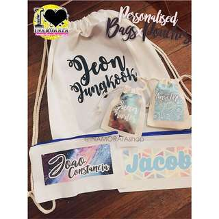 Personalised Bags & Pouches
