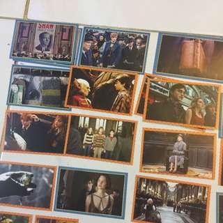 哈利波特 怪獸與他們的產地 貼紙