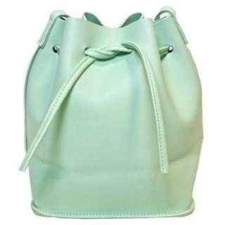 Brand New Mint Green Bucket Bag