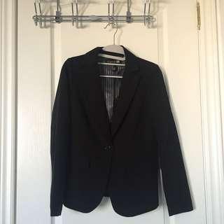 Black F21 Blazer