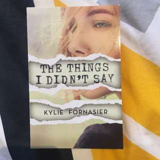 The Things I Didn't Say Book