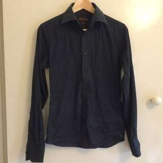 BEN SHERMAN Black Shirt Size S