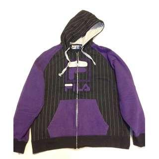 FILA Zip-Up Hoodie - Size: XL