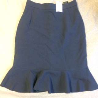 H&M Fitted Skirt Size 8 Brand New