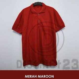 Polo Shirt / Kaos Polo unisex ( Size S - XXXL)