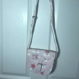Cath Kidston ballet pink girl's shoulder bag