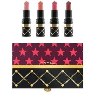 MAC's Nutcracker Lipstick Set (Nudes)