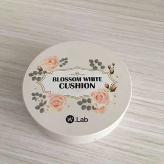 Blossom White Cushion