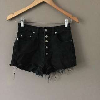 High Wasted Shorts Size 6