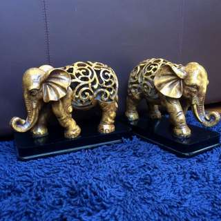 Brown Elephant Home Decorations