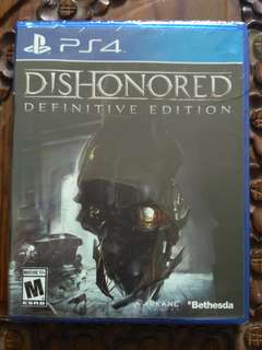 PS4 : Dishonored : Definitive Edition