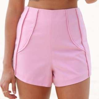 High Waisted Shorts Size 6
