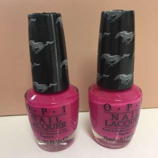 NEW OPI Authentic Girls Love Ponies Pink Nail Polish Full Size