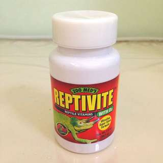 Zoo Med's Reptivite Reptile Vitamins with D3 56.7g