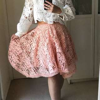 Bariano Lace Skirt