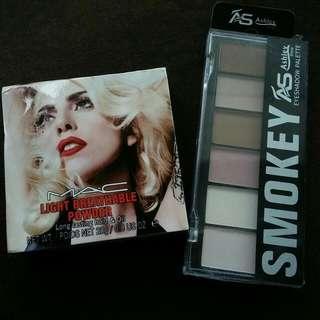 Face Powder / Eyeshadow Palette Set
