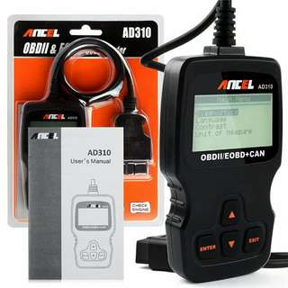 All Car Auto Diagnostic Tool Scanner AD310 OBD2