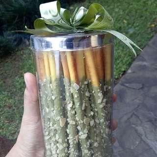 Greentea Stick / Kue Natal