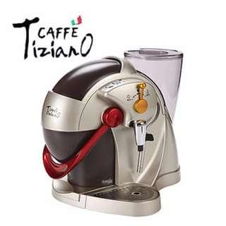 燦坤Caffe Tiziano義式膠囊咖啡機(TSK-1136(金))