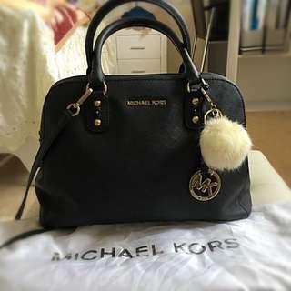 NEGOTIABLE Michael Kors Logo Fob Bowling Bag
