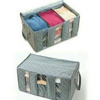Bamboo Charcoal Clothes Organizer