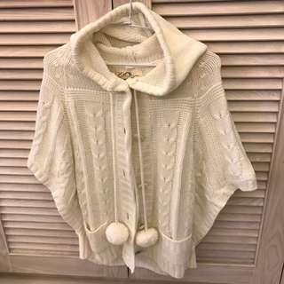 專櫃品牌 Urban Behavior 白色 罩衫 小外套