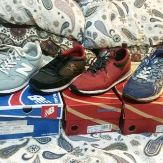 New Balance And Saucony size 12 Us 11 Uk