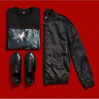H&M bomber for man
