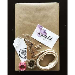 Christmas Gift Wrapping Kit