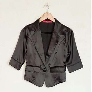 KOREAN SILK BLAZER