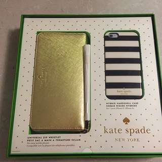 KATE SPADE GIFT SET WALLET AND IPHONE 6 Case