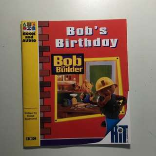 Preloved Bob The Builder Children's Book