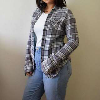 American Eagle Outfitters Checkered Shirt