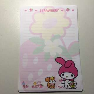 My Melody Notepad